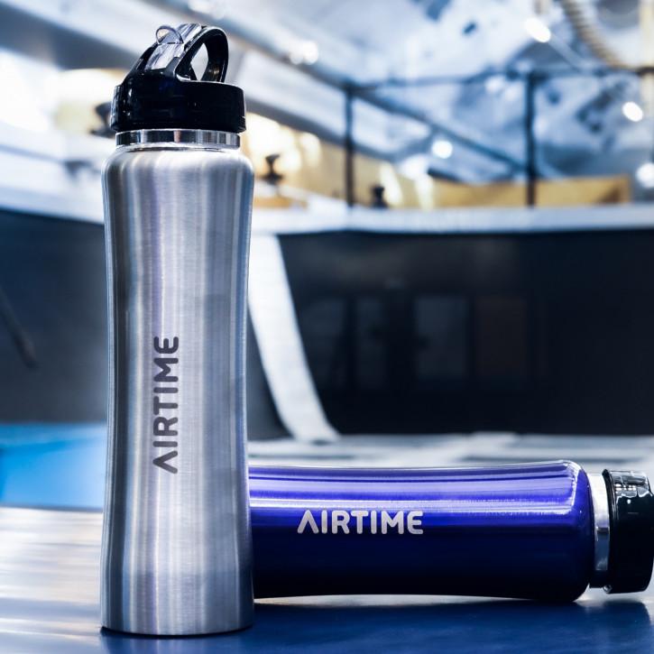 Airtime Flasche Silber